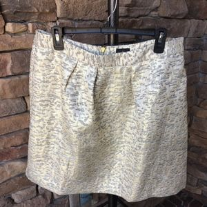 NEW Worthington Gold and Silver Skirt